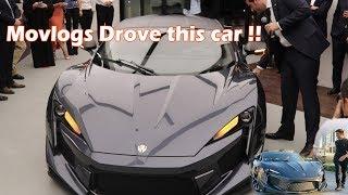 $1.8 Million Fenyr Supersport Launch in Dubai | Car which Movlogs Drove | W Motors Dubai
