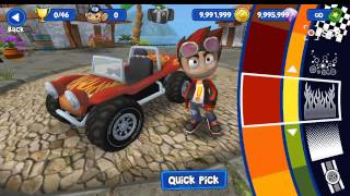 BEACH BUGGY RACING V1.0.2 MOD APK Unlimited Money+Premium[NO ROOT]