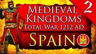 PORTUGAL-SPAIN WAR! Medieval Kingdoms Total War 1212 AD