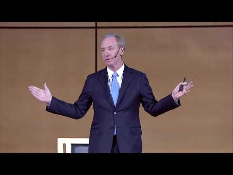 Microsoft President Brad Smith On Cybersecurity and a Digita