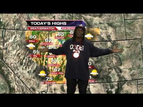 Flavor Flav does Salt Lake City's weather forecast