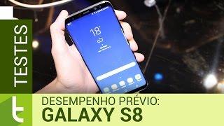 Galaxy S8: teste prévio de desempenho   TudoCelular.com