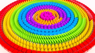 Learning Shapes with Rainbow Spiral