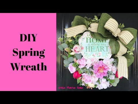 Easy Spring Wreath Tutorial Mp3