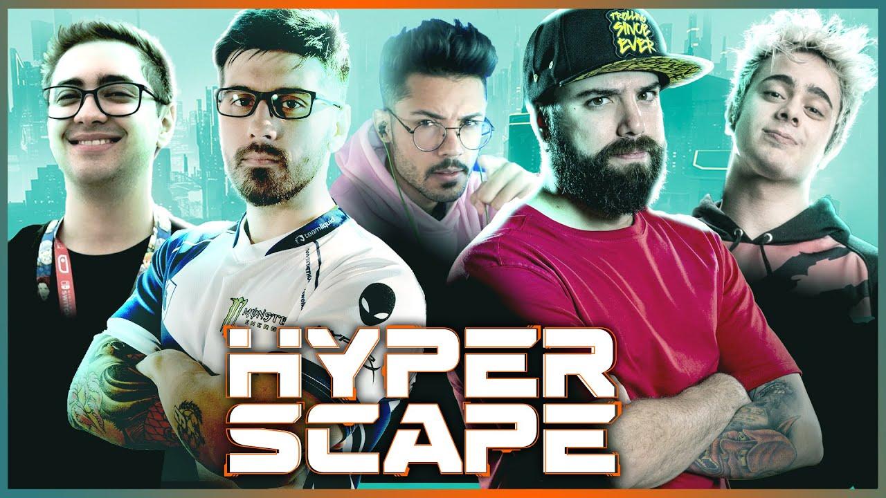 JOGADAS ABSURDAS DOS STREAMERS EM HYPER SCAPE ft. @PioresGamersDoMundo @zigueira @Yoda SL E MAIS!