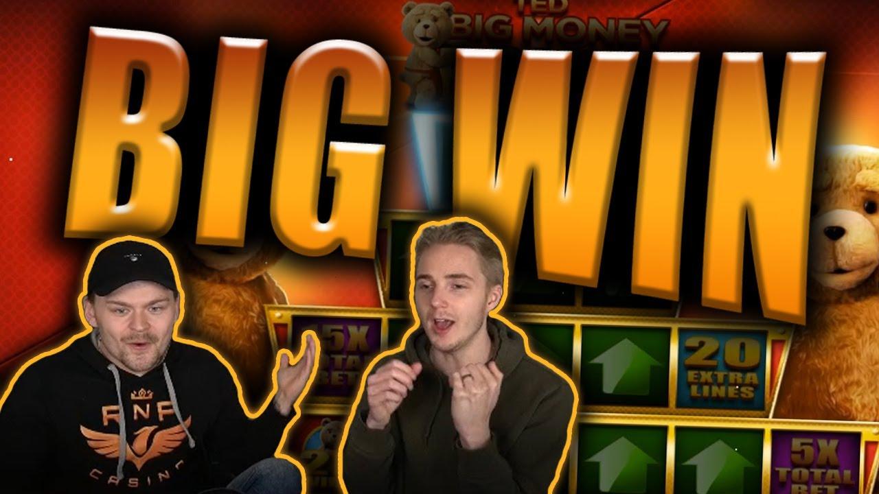 BIG WIN on TED Slot - Casino Stream Big Wins