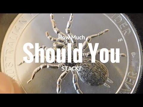 How Much Silver Should You Stack?