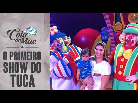 PBB Colo de Mãe - PRIMEIRO SHOW DO TUCA | Circo do PATATI E PATATÁ