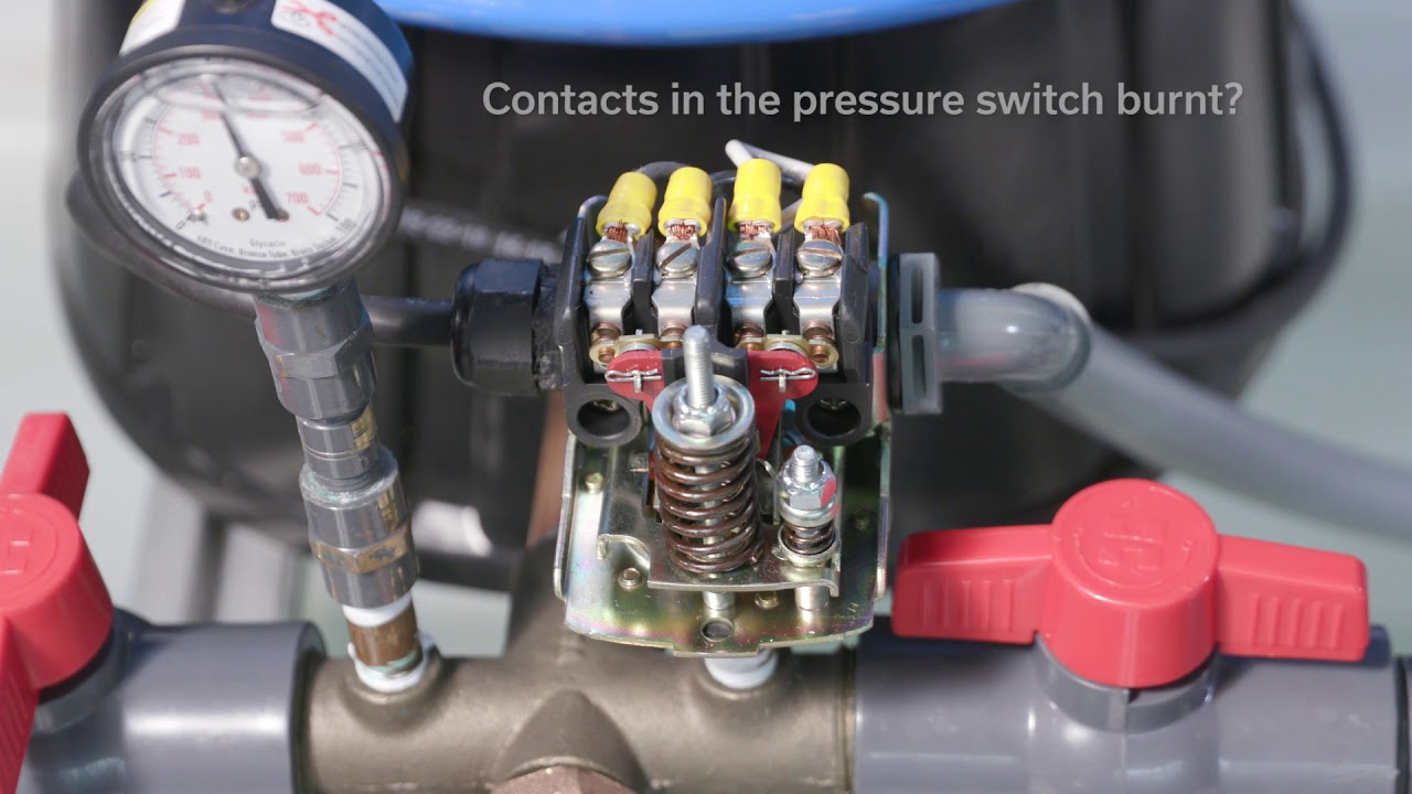 120v Pump Wiring Diagram The 15 Typical Causes Of Pressure Switch Chatter Youtube