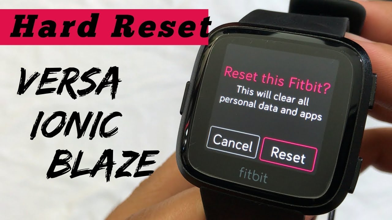 HOW to Factory Reset ANY Fitbit Watch [2019] Download video - get