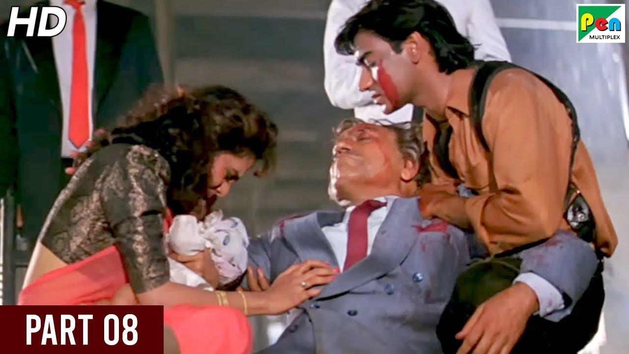 Download Phool Aur Kaante | Hindi Movie | Ajay Devgn, Madhoo, Arif Khan, Aruna Irani, Amrish Puri | Part 08