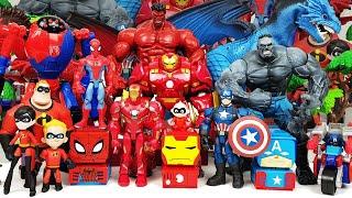 Avengers Go~! Defeat the Dragon! Incredibles 2, Hulk, Spider-Man, Iron Man, Captain America, Thanos