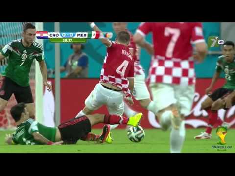 Mexico vs Croacia 3 1 Mundial Brasil 2014 TV AZTECA HD Resumen