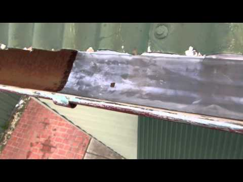 Gutter repaired