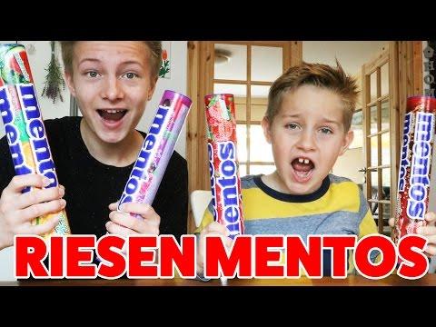 XXL RIESEN Mentos - Das größte Mentos der Welt?! TipTapTube
