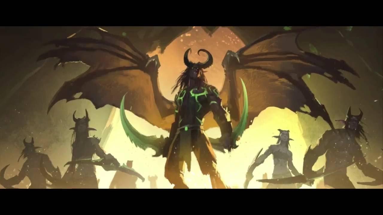 World of warcraft cin matiques chasseur de d mons fr youtube - Dessin de demon ...