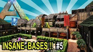 🏡 ARK INSANE BASES SHOWCASE PART 5 !! Ark Survival Evolved Base Build Showcase