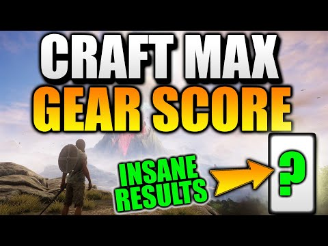Crafting MAX Gear Score ARMOR! INSANE RESULTS! New World MMO Crafting & New World Crafting Late Game