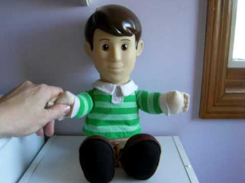 "1999 TYCO BLUE'S CLUES TALKING ""STEVE"" DOLL - YouTube"