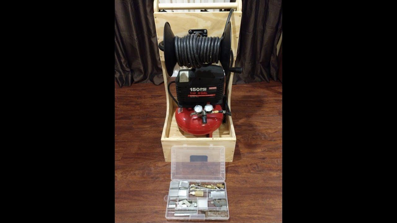 Air Compressor Cart Pt  1