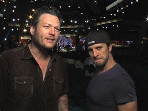 Academy of Country Music Awards  Blake Shelton & Luke Bryan Interview