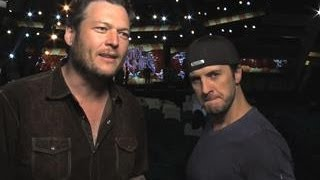 Academy of Country Music Awards - Blake Shelton & Luke Bryan Interview