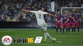 FIFA 16 Funny moment + Mon plus beau coup franc
