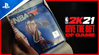 NBA 2K21 - Give The Gift Of Game   PS5, PS4