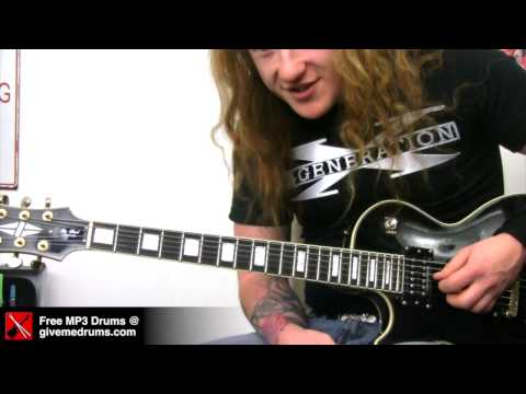 Michael Angelo Batio Inspired Hand Over Neck Guitar Trick - Guest Electric Guitar Lesson