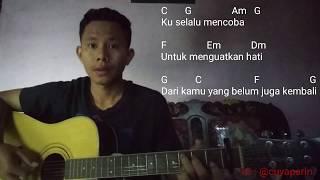 Download lagu Chord Gitar Dasar Anji -  Menunggu Kamu Cover By Surya Prambudi