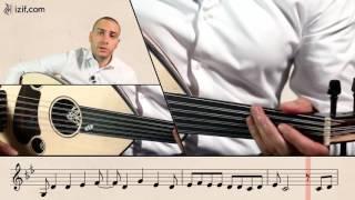 تعليم عزف أغنية بكتب اسمك يا بلادي | izif.com