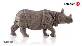 Schleich 14816 Индийский носорог