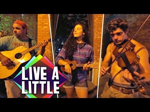 Take it to the Streets! BUSKING 101 | Live A Little