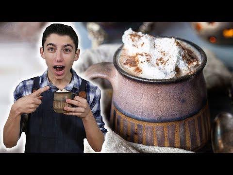 Homemade Pumpkin Spice Latte (Better Than Starbucks!) | Eitan Bernath