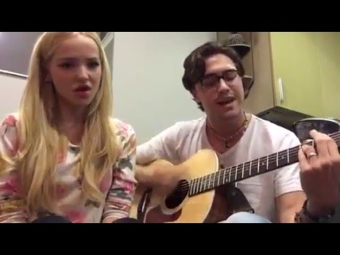 Dove Cameron - live on periscope - TGATDC - Glowing In The Dark (part 2)