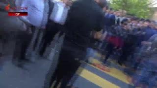 Ցուցարարները արգելափակել են Երեւանի փոքր կենտրոնի փողոցներն ու Մետրոպոլիտենի կայարանները․ LIVE