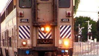 Amtrak Trains in Fullerton/Santa Ana (January 26th, 2014)