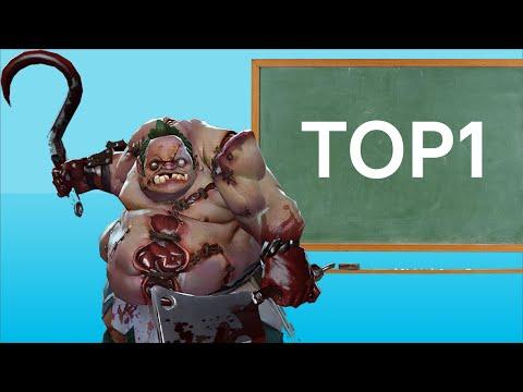видео: dota 2 гайд на pudge. top1 Китая. Школьная программа
