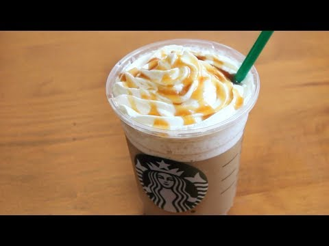5 Ingredient Caramel Frappuccino | SweetTreats