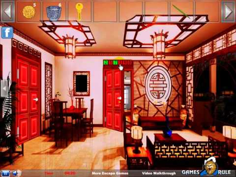Modern Chinese House Escape Video Walkthrough YouTube