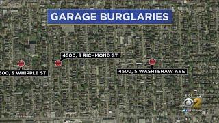 Police Warn Of Brighton Park Garage Burglaries