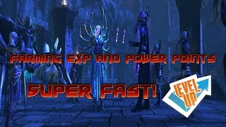 Neverwinter - Fastest EXP / Power Point Farming Guide