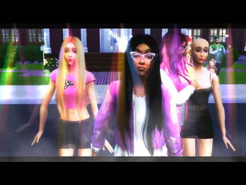 Coreografia de Cheguei - Ludmilla (The Sims 4)