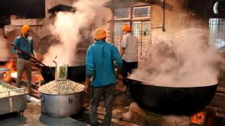 Langar Preparation at Gurdwara Nada Sahib