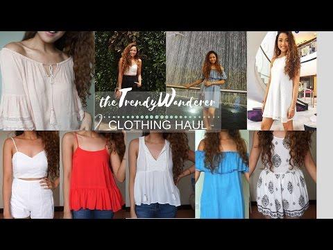 Try-on Clothing Haul I F21, Zara, New...