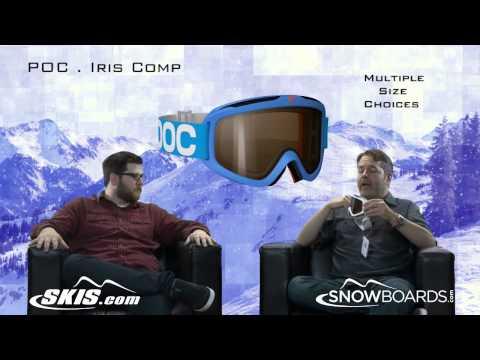 2014 POC Iris Comp Goggle Overview by SKIS.COM