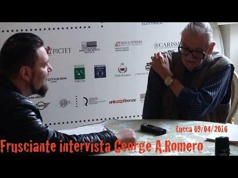 Frusciante intervista George A.Romero (Lucca 09/04/16)