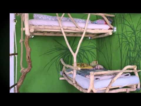 das kinderbett abenteuerbett 39 baumh tte 39 hochbett von. Black Bedroom Furniture Sets. Home Design Ideas
