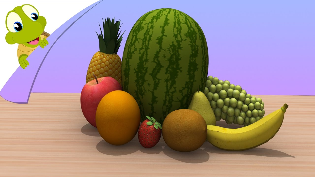 Learn Fruits in 3D - Fruits and their Names - Learning Series - YouTube 883ea7d32