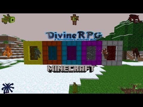 Мод Divinerpg для Minecraft
